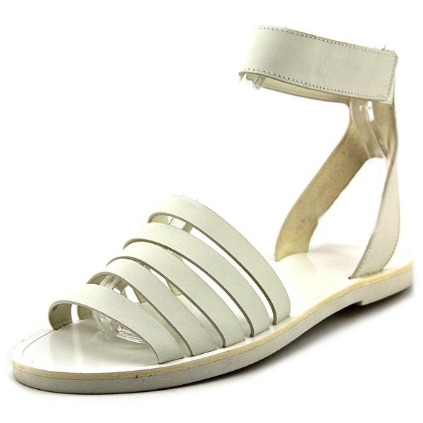Vince Cassie Open-Toe Leather Slingback Sandal