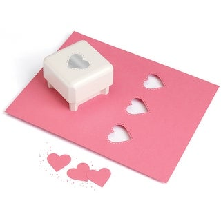 """Martha Stewart Punch All Over The Page Punch-Studded Heart, 1.5"""""""