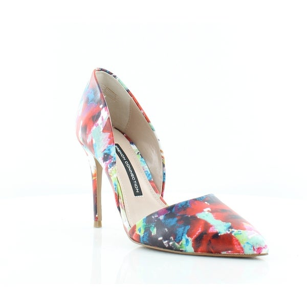 French Connection Elvia Women's Heels Fracture Floral