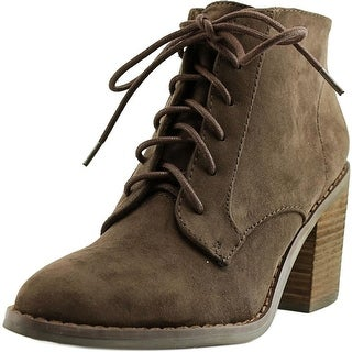 Rocket Dog Menosi Women  Round Toe Synthetic Brown Ankle Boot
