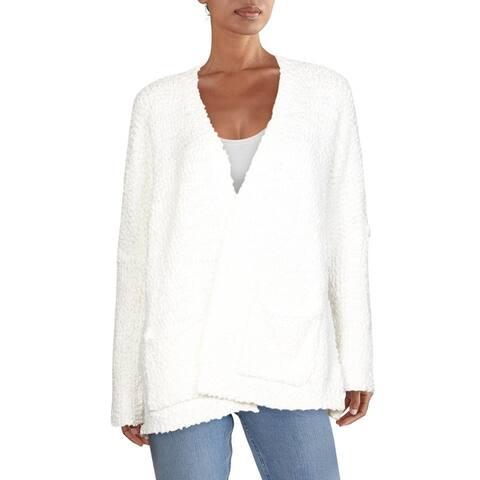 Cupio Womens Cardigan Sweater Dolman Sleeves Open Front