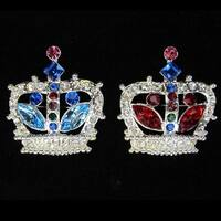 Girls Crown Pin Pageant Special Occasion Jewelry Accessory