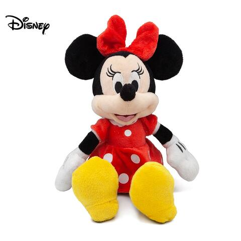"Disney Minnie Mouse Red 11"" Beans Plush w hangtag"