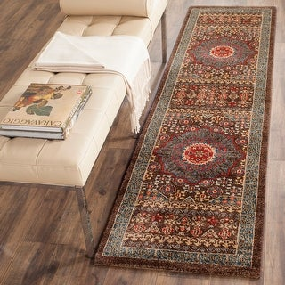 Link to Safavieh Mahal Hildegund Traditional Oriental Rug Similar Items in Transitional Rugs