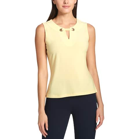 Tommy Hilfiger Womens Shell Embellished Office Wear