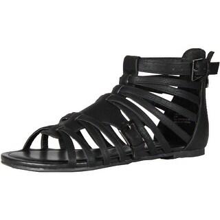 Madden Girl Womens Maximuss Gladiator Sandals - Cognac - 6 b(m) us