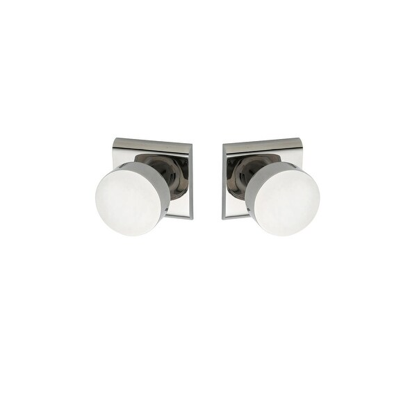 Montana Forge K3-R5-4095 Full Dummy Door Knob Set with K3 Knob and R5 Rose from the Contemporary Collection