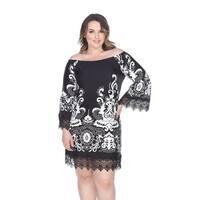 Plus Size Uniss Dress - Black