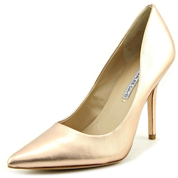 Charles David Sway II Women Pointed Toe Leather Heels