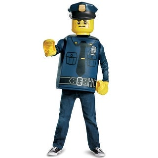 Disguise Police Officer Classic Child Costume - Blue