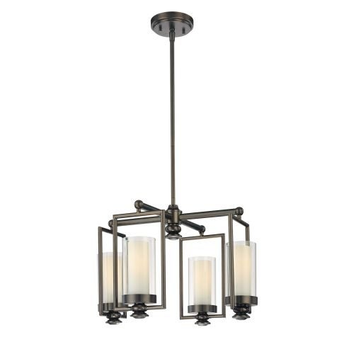 Minka Lavery 4363 4 Light 1 Tier Mini Chandelier from the Harvard Court Collection