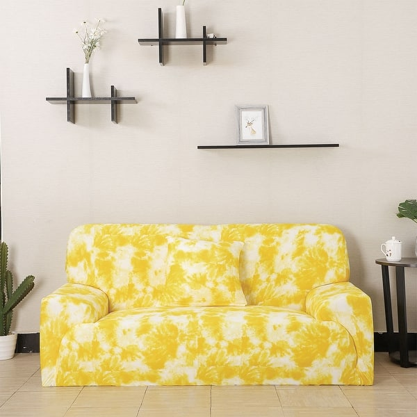 Wondrous Shop Soft Floral Stretch Sofa Couch Cover Slipcovers Short Links Chair Design For Home Short Linksinfo