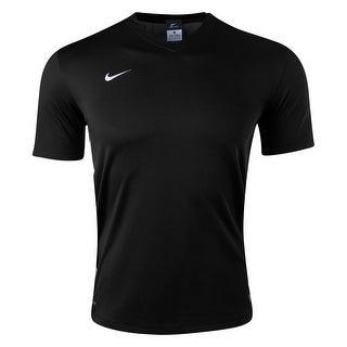 Nike Boys Challenge Jersey T-Shirt Black/White - Black