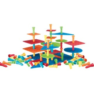 Lauri 3-Dimensional Pegs Building Set