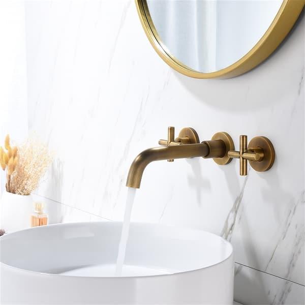 Bathroom Faucet Wall Mounted Bathroom Sink Faucet 7 9 X 10 10 Overstock 31507061