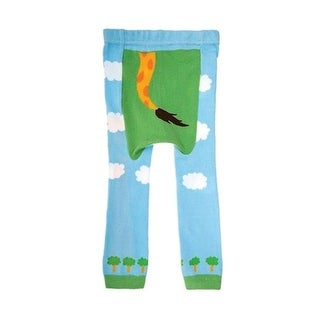 Doodle Pants Toddler Giraffe Pants - Children's Kid's Leggings - Blue