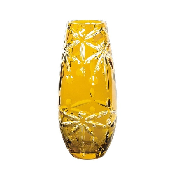 Shop 1175 Sparkling Clear And Glossy Amber Faceted Decorative Tall