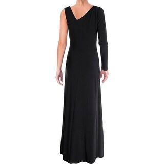 Laundry by Shelli Segal Womens Evening Dress Matte Jersey Side Slit