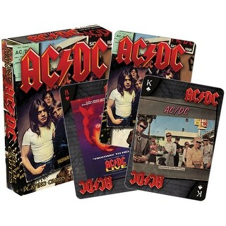 AC/DC Albums Licensed Playing Cards - Standard Poker Deck - MultiColor