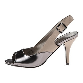 Tahari Women's Ramona Open-Toe Slingback Pumps