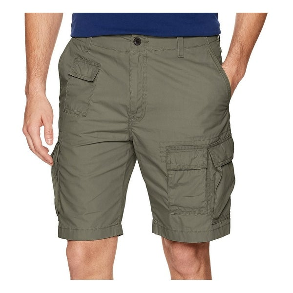 7f5bb8ed3a Shop Nautica NEW Olive Green Mens Size 32 Button-Front Navigator Cargo  Shorts - Free Shipping On Orders Over $45 - Overstock - 21536518