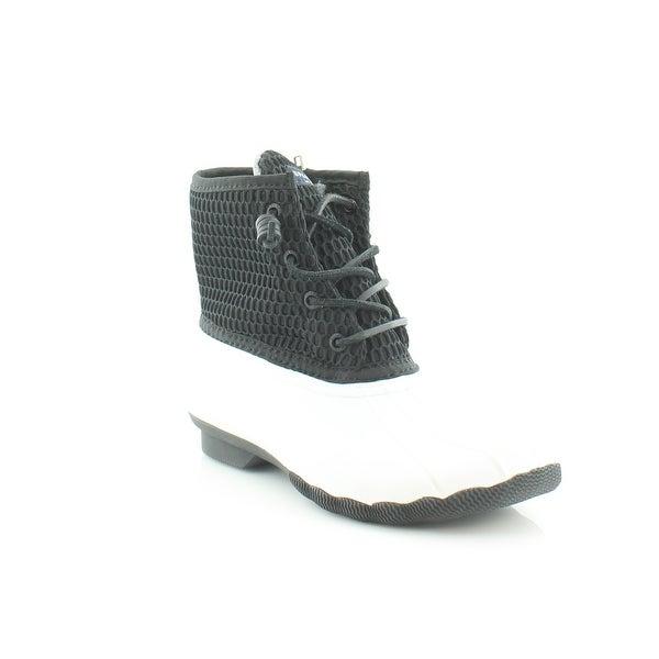 Sperry Top-Sider Saltwater Women's Boots Wht/Blk - 6