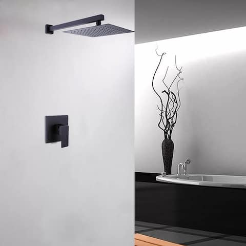 Wall Mounted Bathroom Shower Faucet Sytstem - 17.32*13.78*5.31