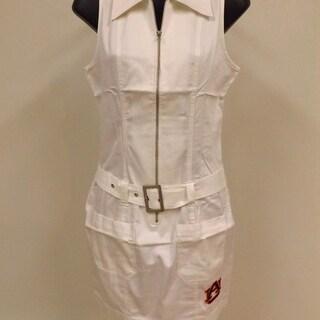 Auburn Tigers WOMENS Designer White Dress By Meesh Mia Size XS S M L XL