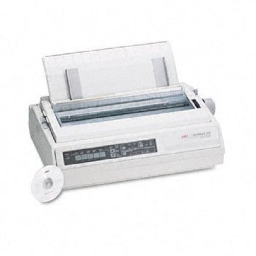 Okidata - Ml395 - Mono - Dot-Matrix Printer - 24-Pin Printerhead - Up To 610 Cps, Compatib