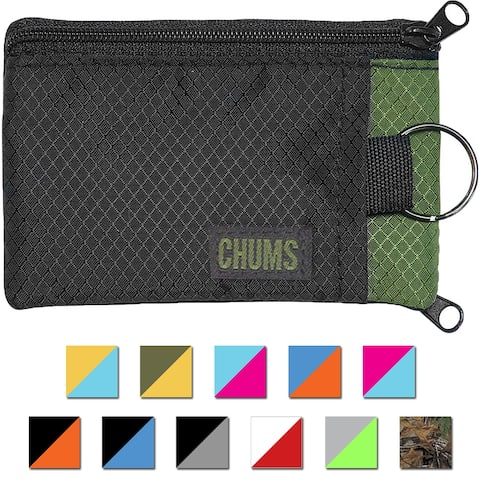 Chums Surfshorts Compact Rip-Stop Nylon Wallet - One Size