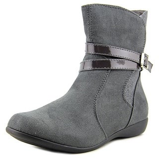 Balleto by Jumping Jacks Starlight Youth Round Toe Suede Gray Boot