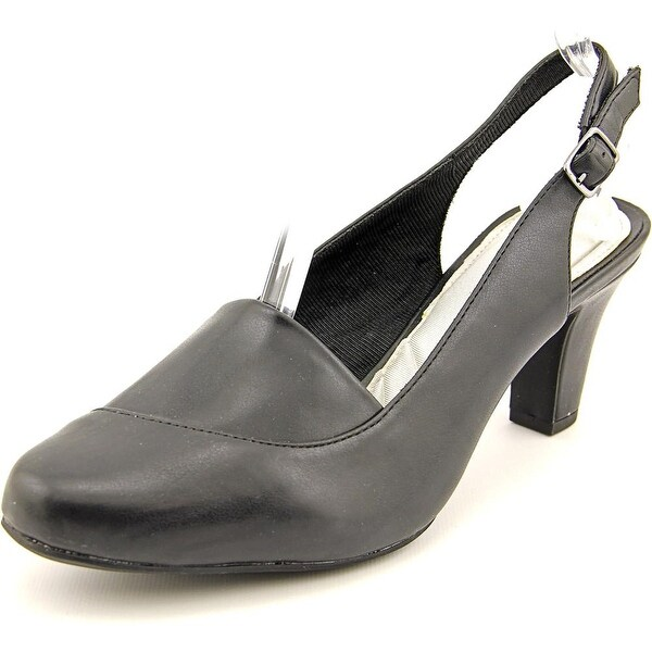 Easy Street Tribella Women Black Pumps