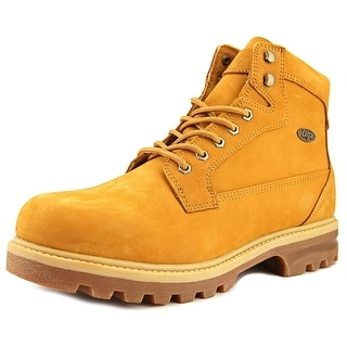 Lugz Brigade Hi Men  Round Toe Leather Tan Boot