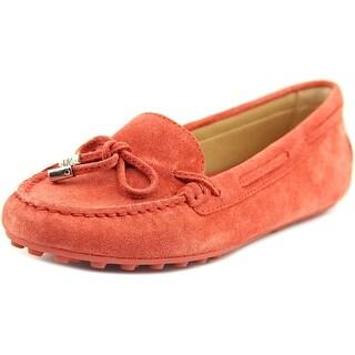 Michael Michael Kors Daisy Moc Women Moc Toe Suede Pink Loafer
