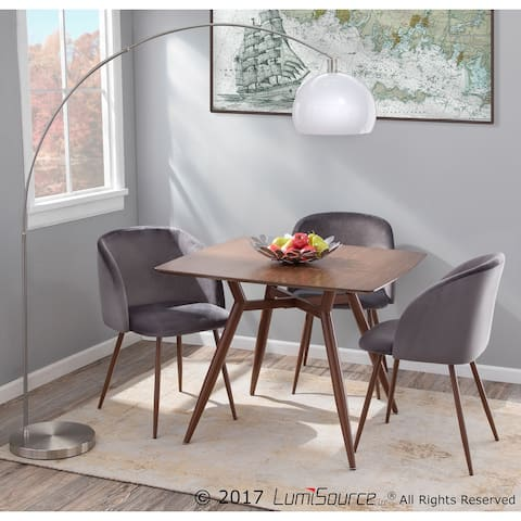 Fran Velvet Upholstered Dining Chairs (Set of 2) - N/A