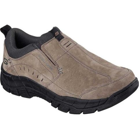 Skechers Men's Relaxed Fit Rig Mountain Top Brown