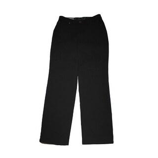 JM Collection Black Embellished Pocket Curvy Fit Straight-Leg Jeans