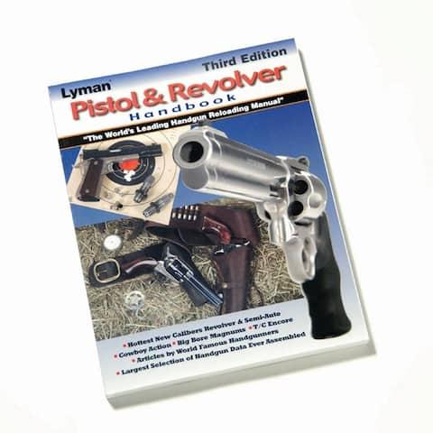 Lyman 9816500 lyman pistol & revolver handbook 3rd edition
