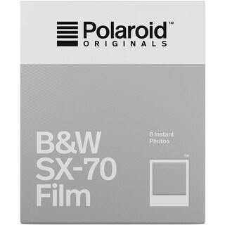 Polaroid Originals Instant B&W Film for SX-70 Cameras