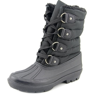 Dirty Laundry Big Bear Women Round Toe Synthetic Black Winter Boot