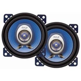 "Pyle Blue label 4"" coaxial speaker"