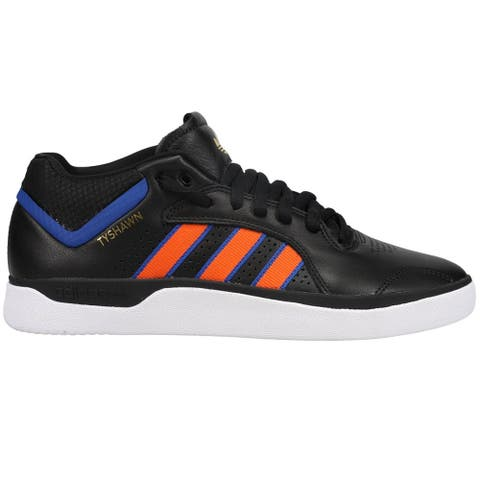 adidas Tyshawn Lace Up Mens Sneakers Shoes Casual - Black