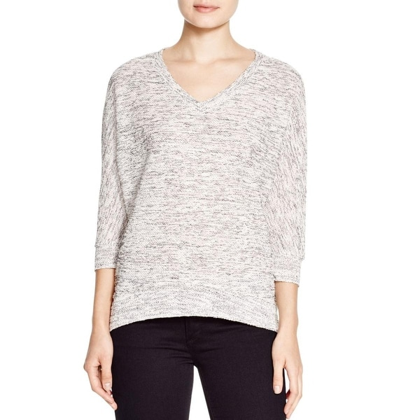 Kut From The Kloth Womens Pullover Top Kint Solid