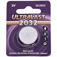 Ultralast(R) UL2032 UL2032 CR2032 Lithium Coin Cell Battery