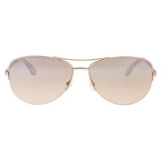 Juicy Couture JU 594/S 0AU2/G4 Red Gold Aviator Sunglasses - 60-15-135