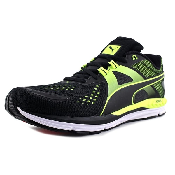 Puma Speed 600 Ignite Men Puma Black-Safety Yellow Running Shoes