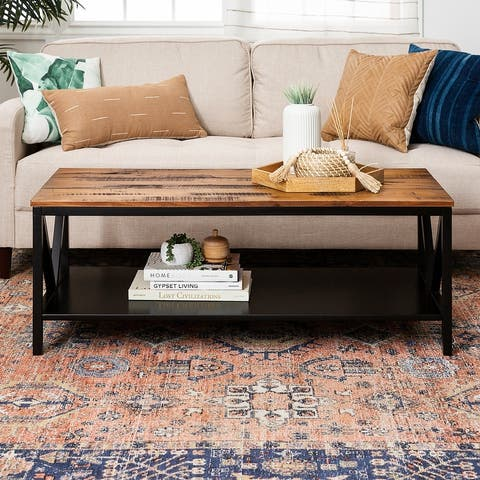 The Gray Barn Distressed Coffee Table