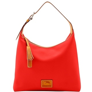 Dooney & Bourke Patterson Leather Large Paige Sac (Introduced by Dooney & Bourke at $298 in Dec 2016) - Persimmon