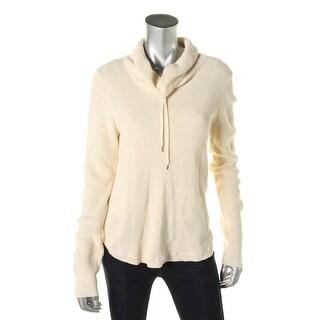 LRL Lauren Jeans Co. Womens Knit Funnel Neck Pullover Sweater - M