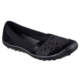 Skechers 49272 BLK Women's EARTH FEST - REPURPOSE Loafer